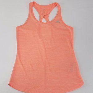 Adidas climalite orange crossback workout top